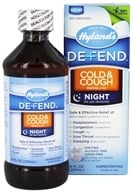 Hylands - Defend Cold & Cough Night - 8 oz. - $10.28
