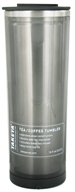 Image of Takeya USA - Double Wall Stainless Steel Tea/Coffee Tumbler and Lid Black - 16 oz.