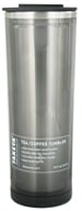 Takeya USA - Double Wall Stainless Steel Tea/Coffee Tumbler and Lid Black - 16 oz. by Takeya USA