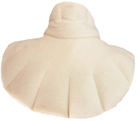 Herbal Concepts - Organic Herbal Neck & Shoulder Wrap - Cream (640518205230)