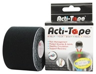 NutriWorks - Kinesiology Acti-Tape Black - 1 Roll(s), from category: Health Aids