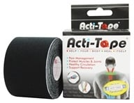 Image of NutriWorks - Kinesiology Acti-Tape Black - 1 Roll(s)