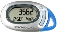 Sportline - 370 TraQ Any-Wear Pedometer with Infiniti Motion Sensor Silver & Blue - 1 Monitor(s), from category: Exercise & Fitness