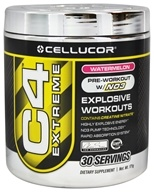 Cellucor - C4 Extreme Pre-Workout with NO3 Watermelon 30 servings - 180 Grams (632964301079)