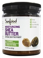 Sunfood Superfoods - Shea Butter Moisturizing Skin Treatment - 8 oz. by Sunfood Superfoods