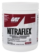 Image of GAT - Nitraflex Hyperemia & Testosterone Enhancing PWD Fruit Punch 30 Servings - 300 Grams German American Technologies