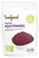 Image of Sunfood Superfoods - Amazon Acai Powder - 8 oz.