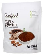 Sunfood Superfoods - Organic Raw Cacao Powder - 8 oz. by Sunfood Superfoods