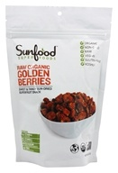 Sunfood Superfoods - Organic Incan Goldenberries - 8 oz. - $13.95