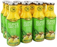 Image of Cell Nique - Super Green Drink Lemon Ginger - 12 oz.