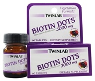 Twinlab - Biotin Dots Mixed Berry 3000 mcg. - 60 Tablets, from category: Vitamins & Minerals