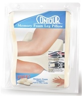 Contour Products - Memory Foam Leg Pillow Ecru - $19.99