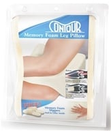 Contour Products - Memory Foam Leg Pillow Ecru (737709000405)