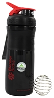 Blender Bottle - SportMixer Tritan Grip Black/Red - 28 oz. By Sundesa - $14.99