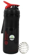 Image of Blender Bottle - SportMixer Tritan Grip Black/Red - 28 oz. By Sundesa