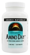 Source Naturals - Amino Day 1000 mg. - 120 Tablets, from category: Nutritional Supplements