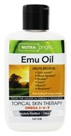 Nutra Origin - Omega 3-6-9 Emu Oil Topical Skin Therapy - 4 oz. (736211405852)
