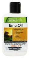 Image of Nutra Origin - Omega 3-6-9 Emu Oil Topical Skin Therapy - 4 oz.