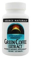 Image of Source Naturals - Green Coffee Extract Energizer - 60 Tablets (with GCA)