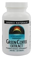 Source Naturals - Green Coffee Extract Energizer - 120 Tablets (with GCA) by Source Naturals