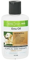 Nutra Origin - Omega 3-6-9 Emu Oil Topical Skin Therapy for Pets - 4 oz., from category: Pet Care