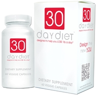 Creative BioScience - 30 Day Diet - 60 Vegetarian Capsules CLEARANCE PRICED - $25