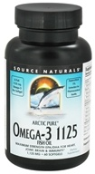 Source Naturals - Arctic Pure Omega-3 Fish Oil - 60 Softgels