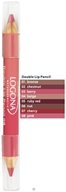 Logona - Double Lip Pencil 08 Pink - 1.38 Grams (4017645011700)