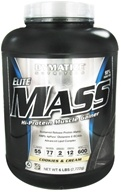 Image of Dymatize Nutrition - Elite Mass Gainer Hi-Protein Muscle Gainer Cookies and Cream - 6 lbs.