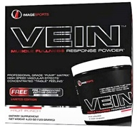 Image Sports - Vein Muscle Fullness Response Powder With Free Pro Thermogenic Cutting Cream Fruit Punch - 4.25 oz. (859123003227)