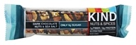 Image of Kind Bar - Nut and Spice Bar Dark Chocolate Nuts and Sea Salt - 1.4 oz.