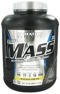Dymatize Nutrition - Elite Mass Gainer Hi-Protein Muscle Gainer Banana Cream - 6 lbs.