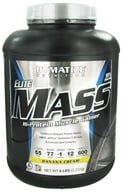 Image of Dymatize Nutrition - Elite Mass Gainer Hi-Protein Muscle Gainer Banana Cream - 6 lbs.