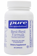 Pure Encapsulations - Best-Rest Formula - 60 Vegetarian Capsules