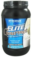Dymatize Nutrition - Elite Gourmet Protein Whey & Casein Blend Powder Cookies & Cream - 2 lbs., from category: Sports Nutrition