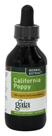 Gaia Herbs - California Poppy - 2 oz.