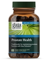 Gaia Herbs - Prostate Health Liquid Phyto Capsules - 120 Vegetarian Capsules, from category: Nutritional Supplements