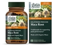 Gaia Herbs - Maca Root 1000 mg. - 60 Vegetarian Capsules, from category: Herbs