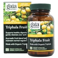 Gaia Herbs - Triphala Fruit 1000 mg. - 60 Vegetarian Capsules, from category: Herbs