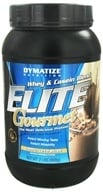 Dymatize Nutrition - Elite Gourmet Protein Whey & Casein Blend Powder Cappuccino - 2 lbs., from category: Sports Nutrition