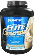 Dymatize Nutrition - Elite Gourmet Protein Whey & Casein Blend Powder Cappuccino - 5 lbs., from category: Sports Nutrition