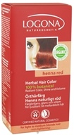 Image of Logona - Herbal Hair Color 100% Botanical Henna Red - 3.5 oz.