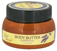 Out Of Africa - Organic Shea Butter Body Butter Lavender - 7 oz. by Out Of Africa