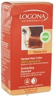 Image of Logona - Herbal Hair Color 100% Botanical Flame Red - 3.5 oz.
