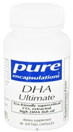 Pure Encapsulations - DHA Ultimate - 60 Softgels by Pure Encapsulations