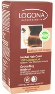 Image of Logona - Herbal Hair Color 100% Botanical Walnut Red-Brown - 3.5 oz. CLEARANCE PRICED