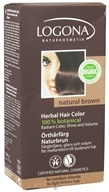 Image of Logona - Herbal Hair Color 100% Botanical Natural Brown - 3.5 oz.
