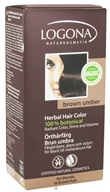 Logona - Herbal Hair Color 100% Botanical Brown Umber - 3.5 oz. (4017645009677)