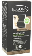 Image of Logona - Herbal Hair Color 100% Botanical Henna Black - 3.5 oz.