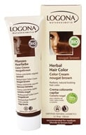 Logona - Herbal Hair Color Cream Nougat Brown - 5.1 oz. by Logona